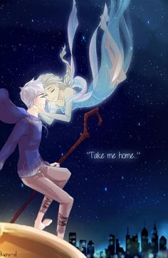Day 12 - Making out Jack Frost x Elsa (Rise of the Guardians and Frozen) Day 01 - Holding Hand by DiWine-WaroDay 02 - Cuddling by jipzuruDay 03 - Gaming by DiWine-Waro. Jack Frost Und Elsa, Jack And Elsa, Disney And Dreamworks, Disney Pixar, Disney Movies, Frozen Love, Elsa Frozen, Disney Frozen, Disney Ships