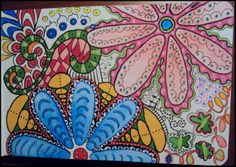 Such pretty art! Doodling. Would l love to make pillows like this pattern. Or towels, or even wall art!