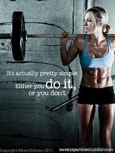Future fitness plans