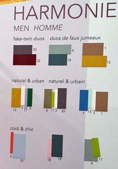 Les couleurs de l'homme en 2016