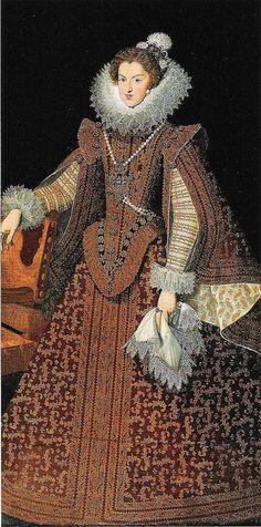 Juan van der Hamen y León - Infanta Maria de Áustria Data 1626