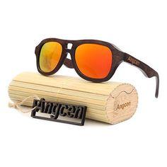 3a50612f3a4  fashion Bamboo Polarized aviator  sunglasses for  mens Classic  woods  Brand Polarized Aviator