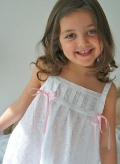 camisones y pijamas para niñas