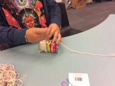 pawspvpstoread 10:57am via Mobile Web (M5) Making bracelets for our friends in Texas #GRAFIAT
