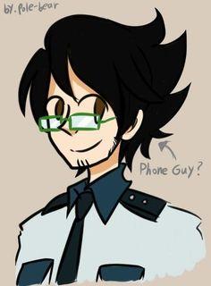 pole bear fnaf - Phone Guy<<<He's my favorite ^. Freddy Anime, Freddy 's, Tsundere, Bear Tumblr, Fnaf Golden Freddy, Fnaf Security Guards, Pole Bear, Fnaf Night Guards, Fnaf Baby