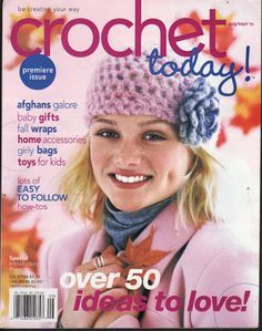 "MAGAZINE: ""Crochet Today"" ❤️LCB-MRS❤️ with diagrams."