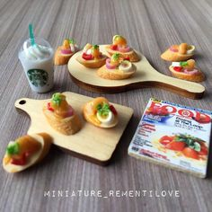 PREVIEW MINIATURE FOR SELL  1⃣ ขนมปัง ชิ้นละ 6.- #iphone #iphoneonly #toyartistry #toythailand #toyphotography #sonny #sylvanian #neodroid #toy #toys #miniaturethailand #miniaturefood #toycollector #dollhouse #furniture #rement #miniature #mini #minitoys #miniaturetoy #fake #furnituretoy #toptoyphotos #figma #kitchen #figure #miniaturethailand
