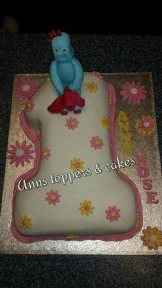 Iggle piggle first birthday cake