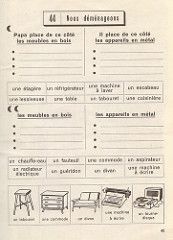 exercices p45 How To Speak French, Learn French, French Resources, French Class, Teaching French, French Language, Grammar, Back To School, Sheet Music