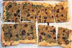 Rustic Leek, Spinach, and Sun Dried Tomato Tart