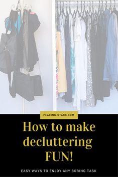 make declutter fun