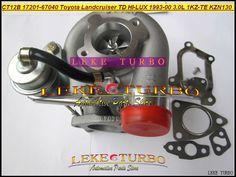 CT12B 17201-67010 17201-67040 17201 67040 1720167010 Turbo For TOYOTA LANDCRUISER 4 Runner HI-LUX HILUX 1KZTE 1KZ-TE KZN130 3.0L #Affiliate