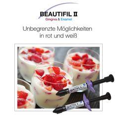 Beautifil II Gingiva & Enamel: Unbegrenzte Möglichkeiten in rot und weiß #shofu #dental