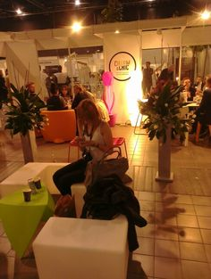 VIP room at Warsaw Fashion Weekend, Autumn 2013