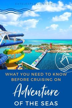 Our complete guide to everything you need to know before cruising on Adventure of the Seas from the Bahamas in Summer 2021. Cruise Excursions, Cruise Destinations, Shore Excursions, Bahamas Vacation, Bahamas Cruise, Cruise Vacation, Cruise Ship Reviews, Royal Caribbean Ships, Adventure Of The Seas