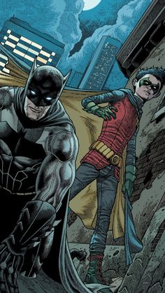 Batman and Robin by Andy Clarke and Nathan Fairbairn