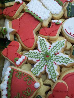 Caja lata galletas navidad