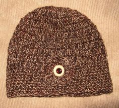 Hand Crocheted HAT  Autumn  Cocoa Tan Rust by SnowflakeEclecticArt, $16.00 Hand Crochet, Crochet Hat, Hat Autumn, Crocheted Hats, Tan