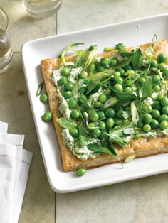 English Pea & Ricotta Tart | Williams-Sonoma Taste