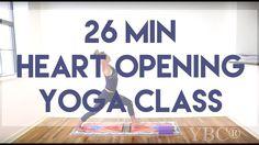 26 Minute Heart Opening Yoga Class