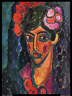 Alexei Jawlensky Spanish Woman