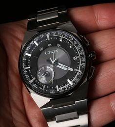 Citizen Eco-Drive Satellite Wave F100 Watch Review Wrist Time Reviews