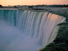Niagara Falls - Canadian Horseshoe Falls. by @bethaneeelyssa