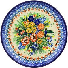 Gorgeous unikat pattern by Polish pottery, Ceramika Artystyczna