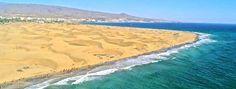 Dunas de la playa Maspalomas,Canarias