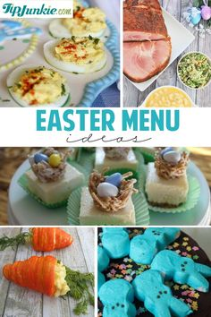 Fun Easter Menu Ideas You'll Want To Try!  #HoneyBakedEaster