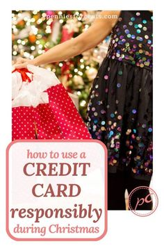 How to use a credit card responsibly this holiday season. Smart credit card use means less stress and more enjoyment during and after the holidays. Ways To Save Money, Money Saving Tips, Best Budgeting Tools, Credit Card Statement, Household Budget, Managing Money, Christmas On A Budget, Best Savings, Get Out Of Debt
