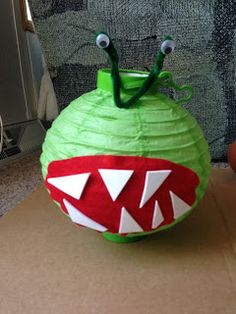 Skylanders Chomby Paper Lantern you can get the lanterns at the dollar store and decorate