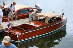 I love these old wooden boats.