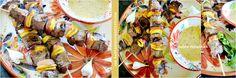 Brochettes boeuf - Plancha de boeuf au citron et moutarde sur kaderickenkuizinn.com #plancha #brochette #boeuf