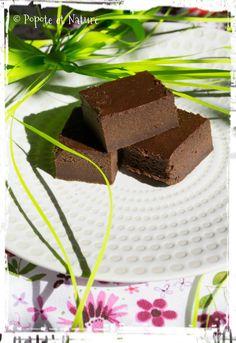 © Popote et Nature -Fondant au chocolat et à la compote de pommes
