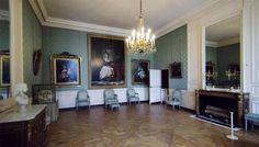Petits Appartements de Versailles  la chambre de la reine Marie Antoinette au rez de chaussée, dite chambre verte