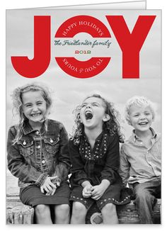 Happy In Joy Christmas Card