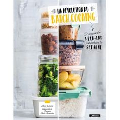 Qu'est-ce que le batch cooking - Healthy Recipes Cooking Kits For Kids, Cooking Supplies, Clean Eating Recipes, Cooking Recipes, Cooking Blogs, Healthy Breakfast Recipes, Healthy Recipes, How To Cook Artichoke, Vegetarian Menu