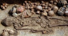 An ancient priestess unearthed in Peru suggests women ruled the mysterious and oft-times brutal culture known as the Moche. The burial chamber, located in Chepen, is tentatively dated to 1,200 yrs ago. This find makes it clear that women didn't just run rituals in this area but governed here and were queens of Mochica society. It is the eighth priestess to be discovered; with excavations only turning up tombs with women, never men.