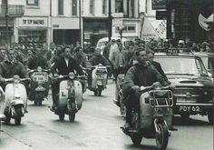 Mods in Hastings 1964
