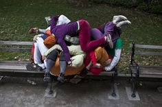 Bodies in Urban Spaces by Cie Willi Dorner