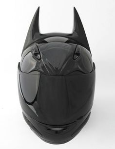 Cool Batman helmet- favorite!