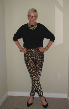 What We Wore: More Leopard - Two Take on Style