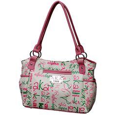 Alpha Kappa Alpha Printed Handbag · Greek 2 Me · Online Store Powered by Storenvy