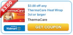 $3.00 off any ThermaCare Heat Wrap 3ct or larger