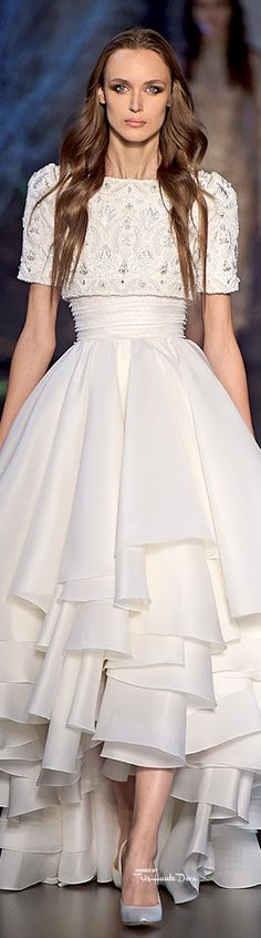 """Ralph & Russo Modest doesn't mean frumpy. www.ColleenHammon... Do your clothing choices, manners, and poise portray the image you want to send? """"Dress how you wish to be dealt with!"""" (E. Jean)"""