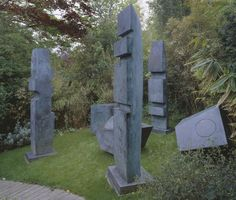 Dame Barbara Hepworth, 'Conversation with Magic Stones' 1973