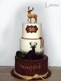 Cake for hunter..
