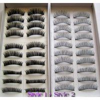 Create a feminine look by enhancing your eyelash length with these false lashes!