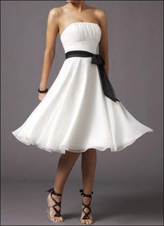 Great reception dress for the bride
